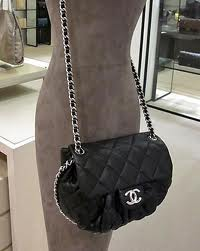 If ever comes a day for Chanel, a girl can dream its the chain wrap around medium size messenger bag in classic black.